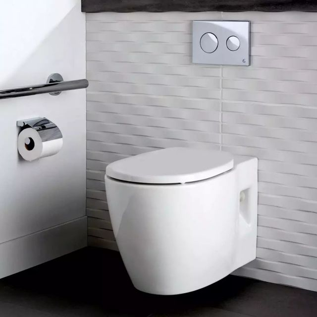 Ideal Standard Concept Freedom Wall Hung Comfort Height Toilet