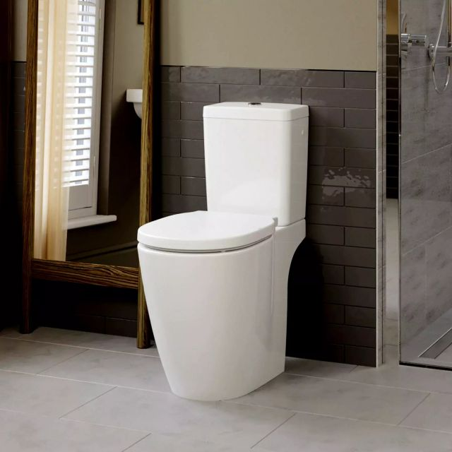 Ideal Standard Concept Freedom Close Coupled Comfort Height Toilet - E608601