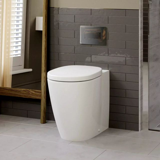 Ideal Standard Concept Freedom Comfort Height Back to Wall Toilet - E608801