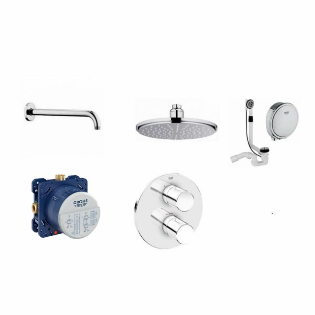 Grohe Grotherm 3000 Shower Bath Pack - 118326