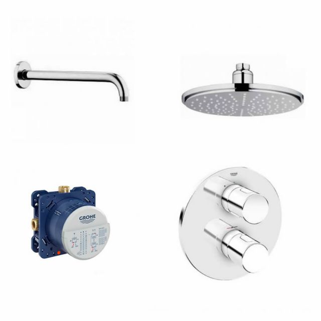 Grohe Grohtherm 3000 Rainshower Pack