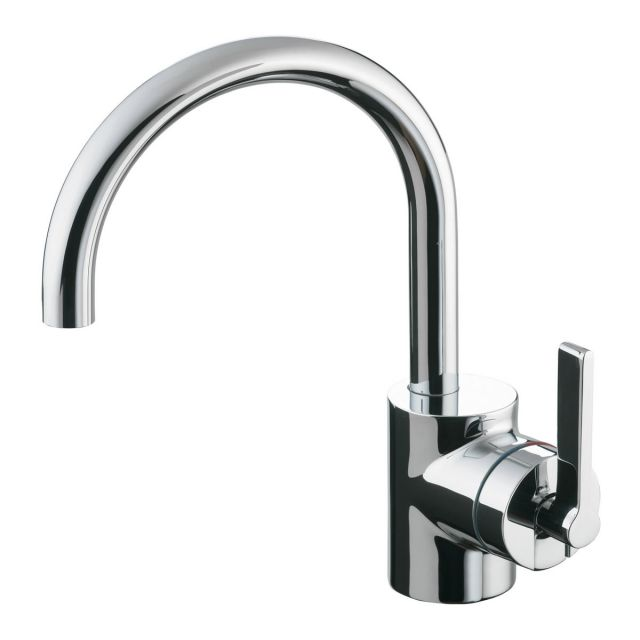 Ideal Standard Silver Single Lever Basin Mixer Tap