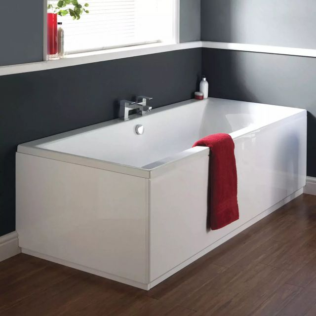 Ideal Standard Tempo Cube Idealform Double Ended Bath