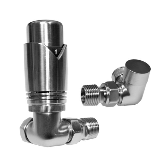 Abacus Ultima Chrome Thermostatic Corner Valve