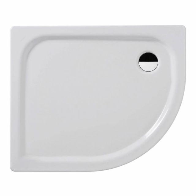 Kaldewei Zirkon Offset Quadrant Steel Shower Tray