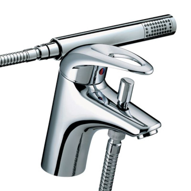 Bristan Java 1 Hole Bath Shower Mixer