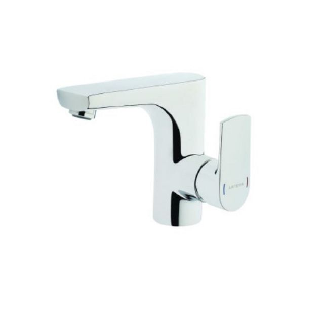 VitrA Monobloc Basin Mixer Tap With Side Lever