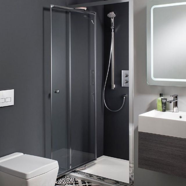Crosswater Edge Infold Shower Door