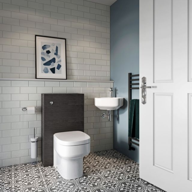Crosswater Statement Tiles Cloakroom Suite
