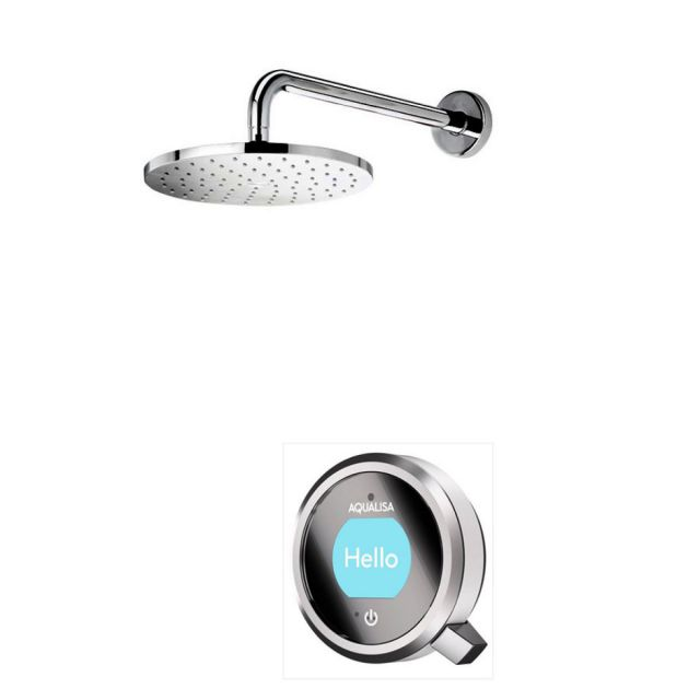 Aqualisa Q Smart Concealed Shower with Wall Mounted Fixed Head