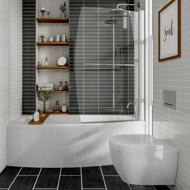 Trojan Space Saver Bathscreen