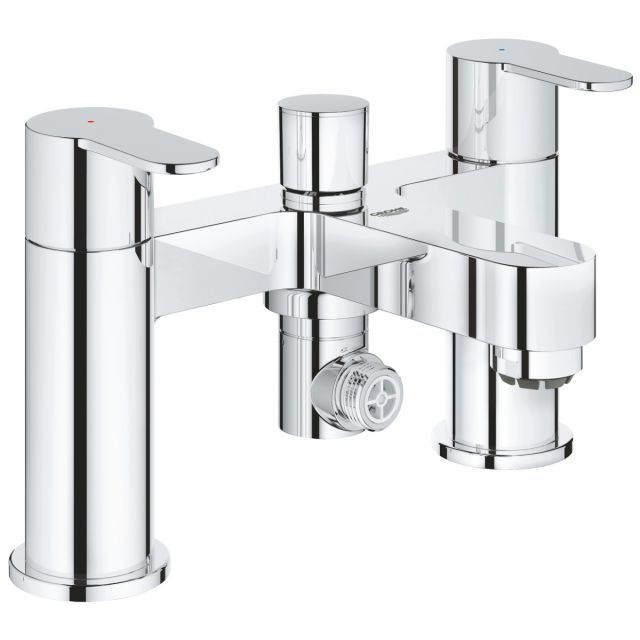 Grohe BauEdge Two Handled Bath Shower Mixer Tap