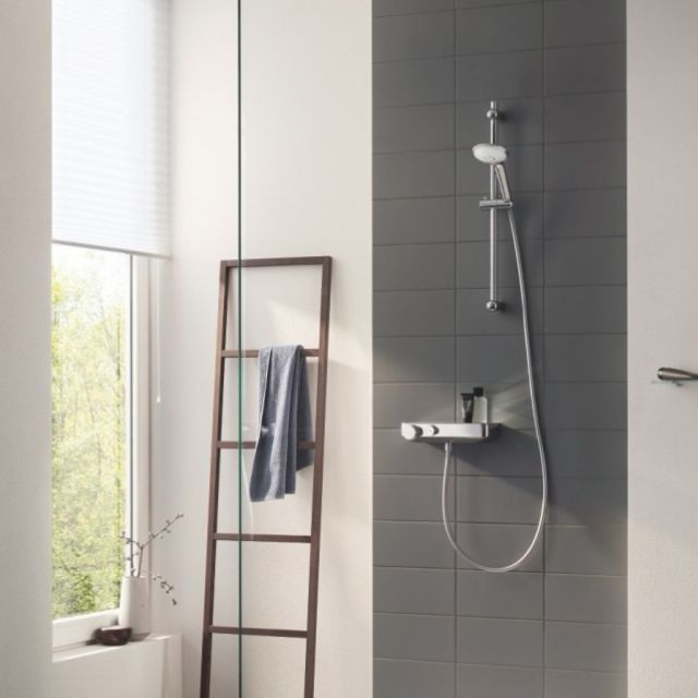 Grohe Grohtherm Thermostatic Shower Mixer with Shower Set - 34720000