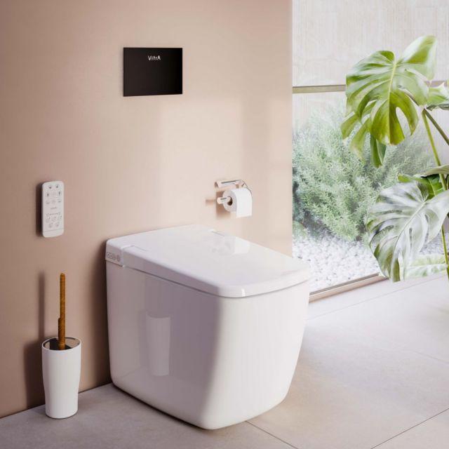 Vitra V-Care Prime Rimex Smart Floorstanding WC - 72324036217