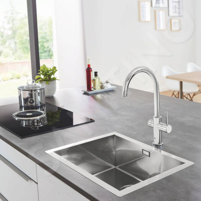 Grohe Blue Home C Spout Filtered Water Mixer Tap