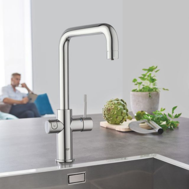 Grohe Blue Home U Spout Filtered Water Mixer Tap