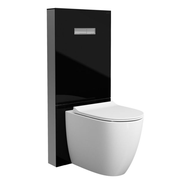 VitrA Vitrus Glass Covered Concealed Cistern for Back to Wall Pan