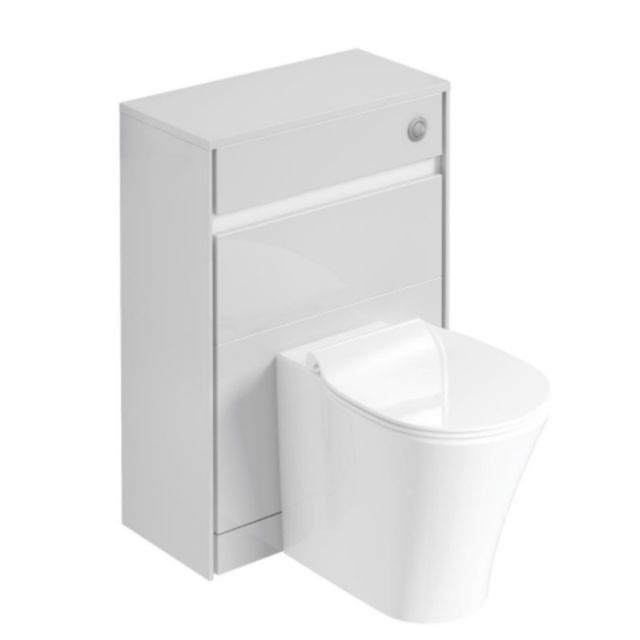 Ideal Standard Concept Air 600mm WC Unit with Dual Flush Cistern and Push Buttons