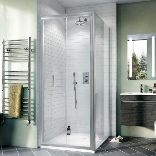 Crosswater Kai Chrome 2 Outlet, 2 Handle Shower Bundle - GTLKAI01