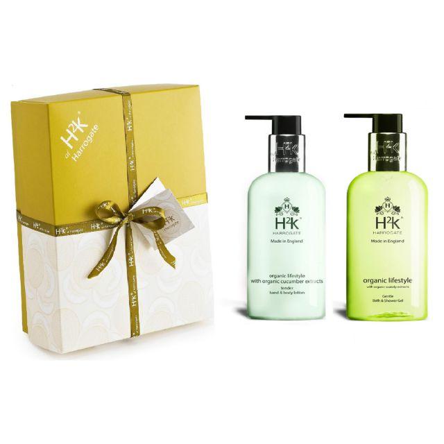 H2K Organic Body Care Gift Set 250ml - ORGSGELHLOTBOX
