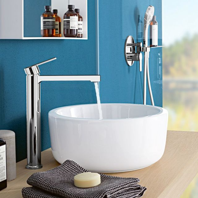 Villeroy and Boch Architectura Round Surface Mounted Washbasin