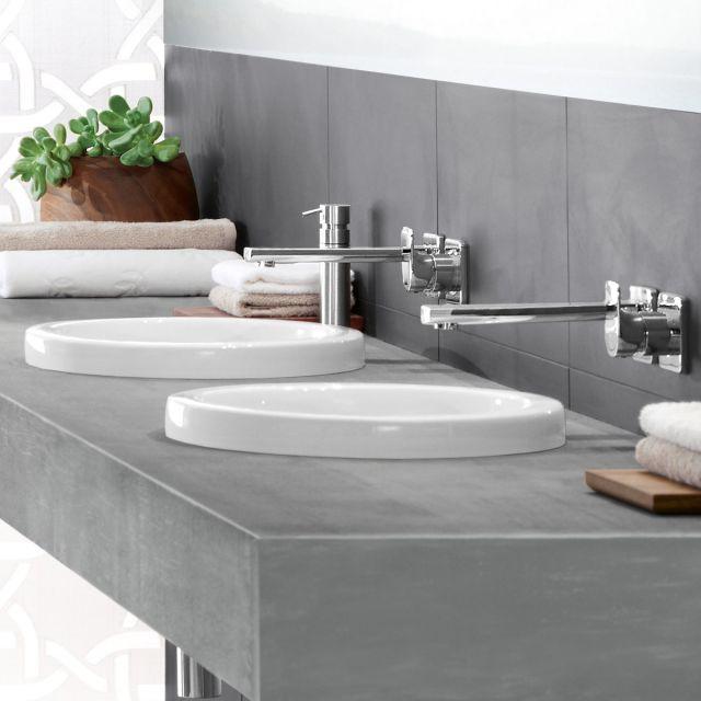 Villeroy and Boch Architectura Round Inset Washbasin - 41654001