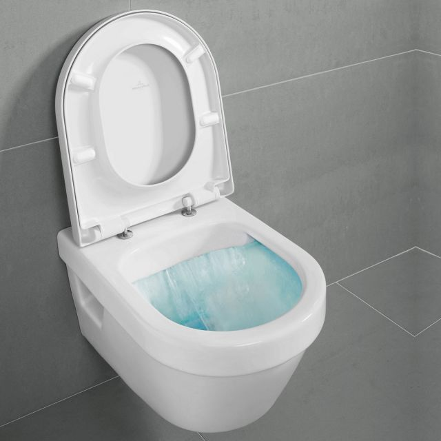 Villeroy and Boch Architectura Wall Mounted Rimless WC Combi Pack - 5684HR01