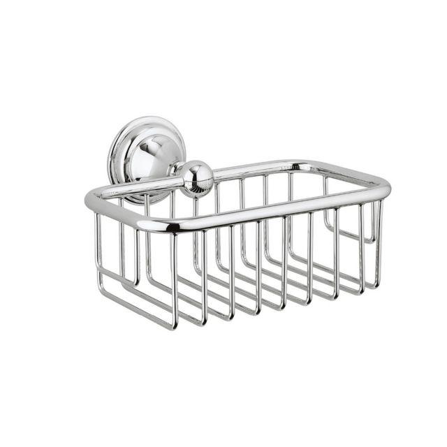 Crosswater Belgravia Soap Basket in Chrome - BL044C