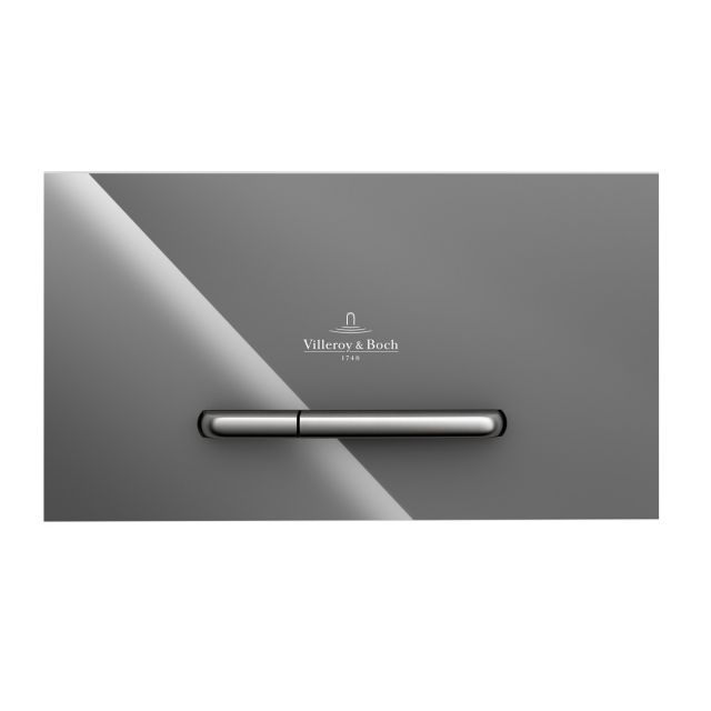 Villeroy and Boch ViConnect M300 Glass Flush Plate - 922160RE