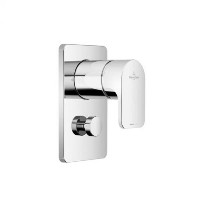 Villeroy and Boch Cult Concealed Shower Valve with Diverter