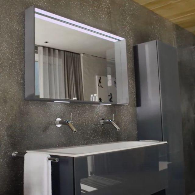 Keuco Plan Adjustable Light Mirror
