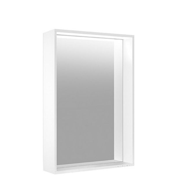 Keuco Plan Light Mirror with Silver Anodised frame