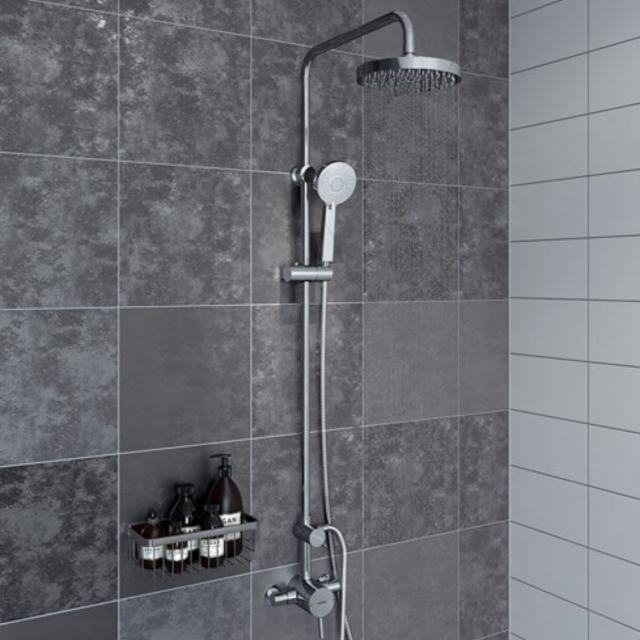 Bristan Prism Single Control Thermostatic Shower - PM2 SQSHXDIV C