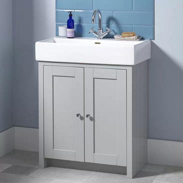 Tavistock Lansdown Large 2 Door Vanity Unit and Basin