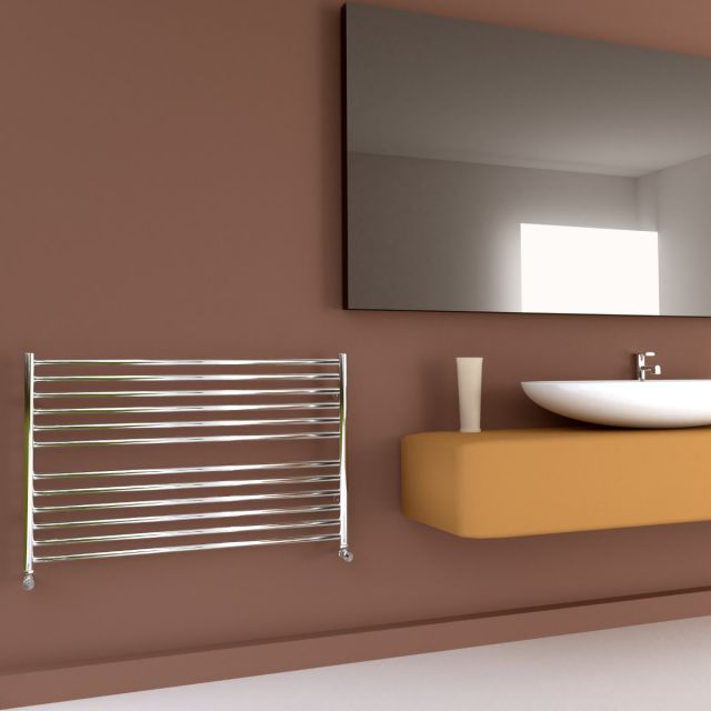SBH Compact 600mm High Flat Towel Radiator