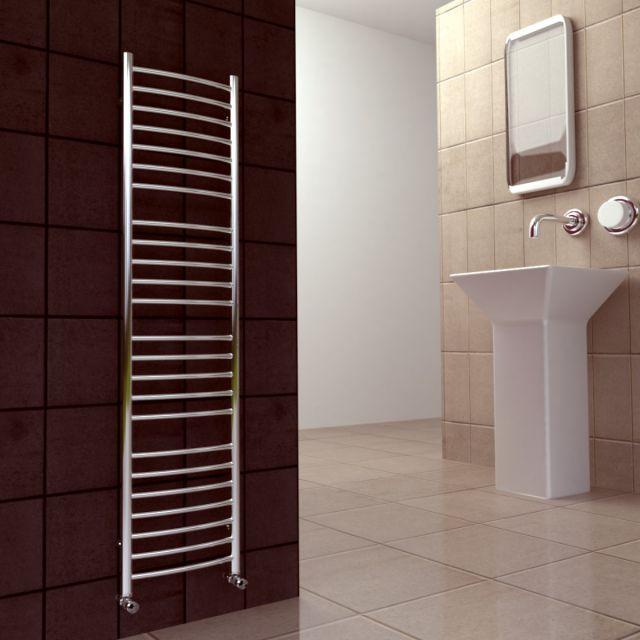 SBH Midi Slim Flat Towel Radiator SS205