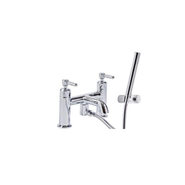 Tavistock Marston Deck Mounted Bath Shower Mixer Tap and Handset - TMS42