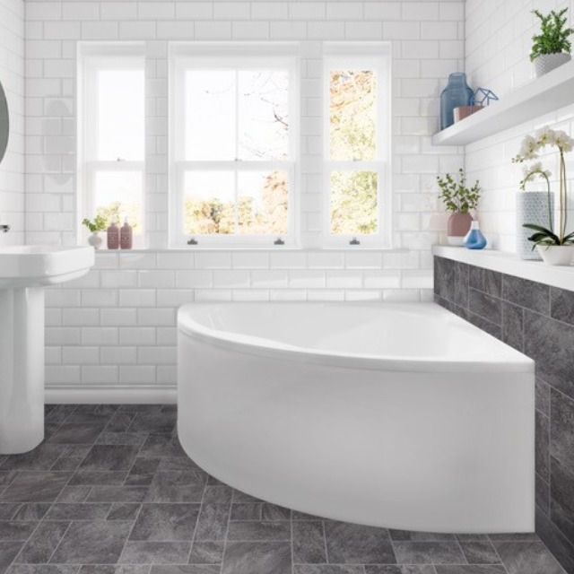 Trojan Laguna Corner Bath