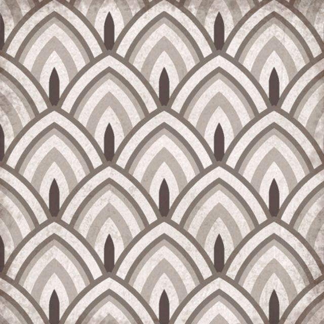 Origins Vintage Peacock Tile 22.3 x 22.3cm