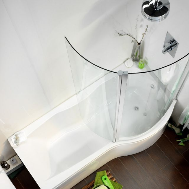 Carron Sigma P Shaped Shower Bath