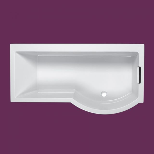 Carron Celsius P Shaped Shower Bath