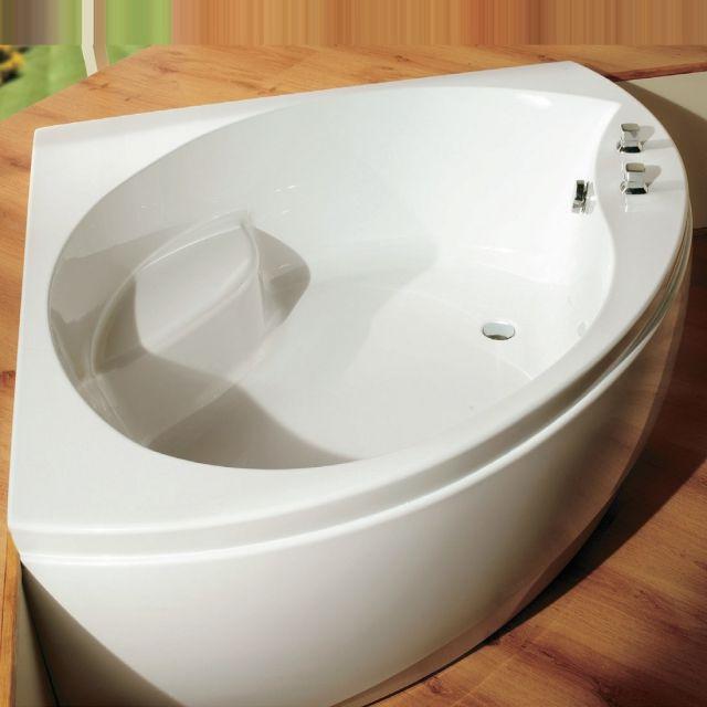 Carron Tranquility 1300 x 1300mm Corner Bath - 23.4291