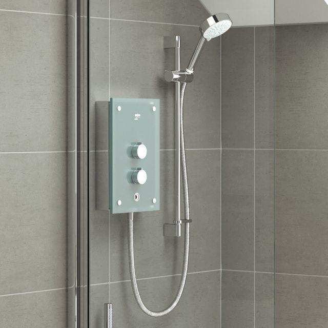 Mira Azora Glass Electric Shower - 1.1634.011