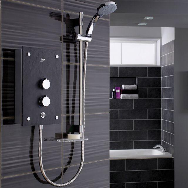 Mira Galena Slate Effect Electric Shower