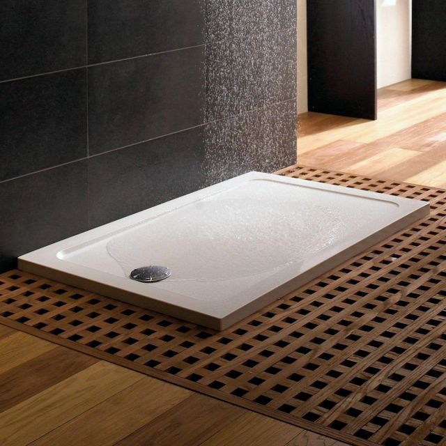 Mira Flight Low Rectangle Shower Tray - 1.1697.005.WH