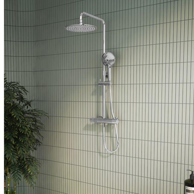 VitrA Aquaheat Bliss 250 Thermostatic Shower Column