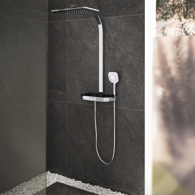 VitrA Aquacontrol Charm S 360 Thermostatic Shower Column - A47204