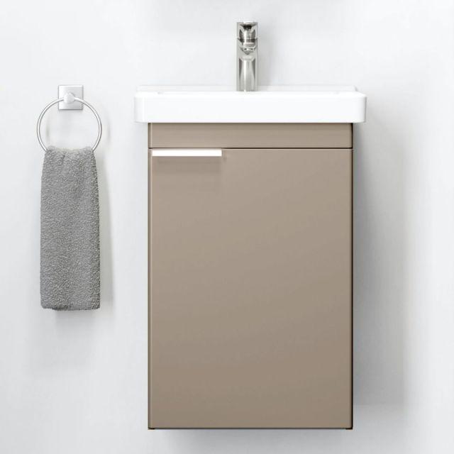 Roca Dama-N 1 Door Compact Cloakroom Vanity Unit