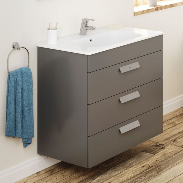 Roca Debba 3 Drawer Vanity Unit