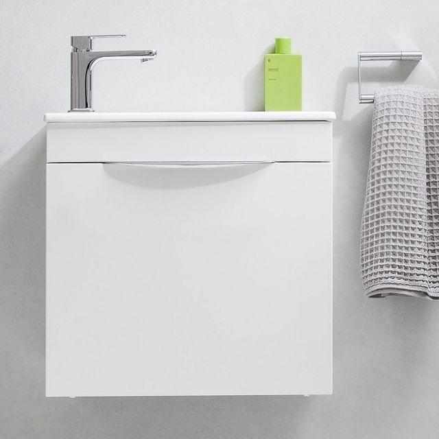 Crosswater Zion Petite Wall Hung Cloakroom Vanity Unit